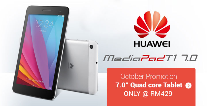 7 Quad core Tablet ONLY at RM429