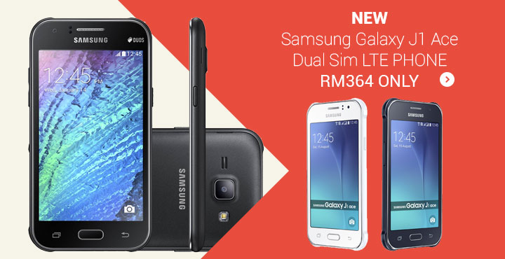 Samsung Galaxy J1 Ace Dual Sim LTE PHONE RM364 ONLY