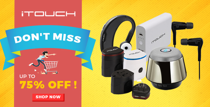 iTouch Up to 75% OFF