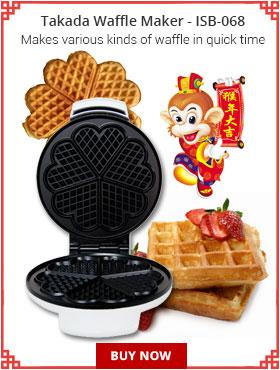 Takada Waffle Maker ISB 068
