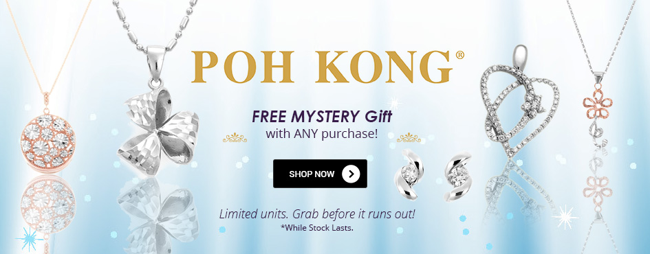 Poh Kong Free Mystery Gift with ANY Purchase