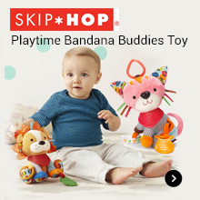 SKIP HOP Playtime Bandana Buddies Toy