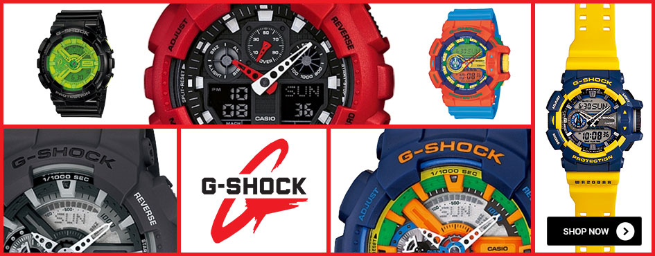 G-Shock Colourful Fashion Collection Watches