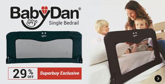 29% Off Baby Dan single Bedrail