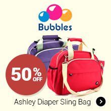 50% Off Bubbles Ashley Diaper Sling Bag