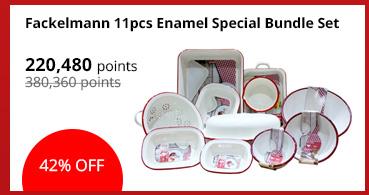 Fackelmann 11pcs Enamel Special Bundle Set
