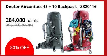Deuter Aircontact 45 + 10 Backpack - 3320116