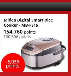 Midea Digital Smart Rice Cooker - MB-FS15