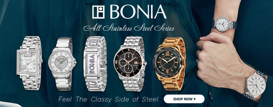 Bonia All Stainless Steel Series