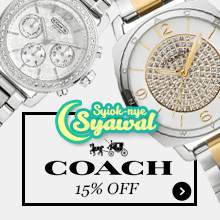 15% Off Coach Watches