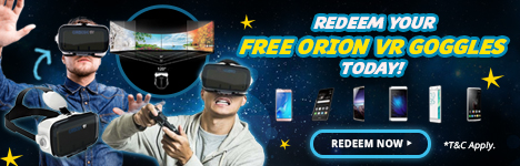 Free Orion VR for Smartphones
