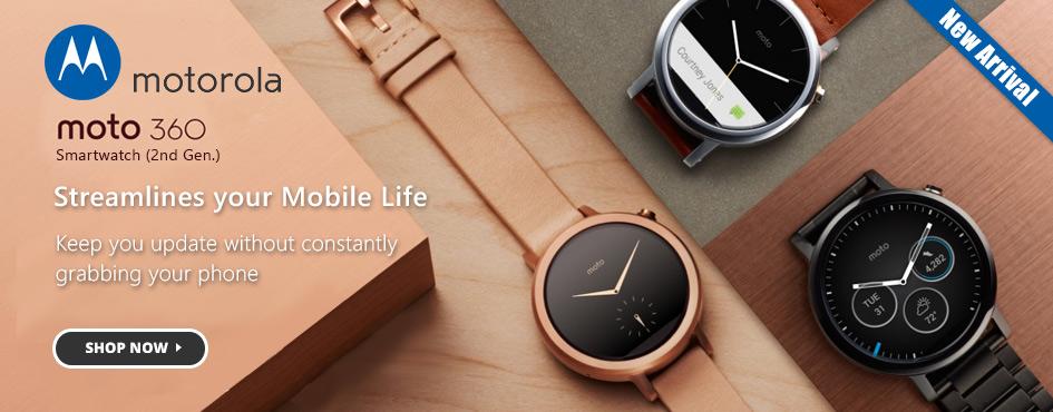 New Arrival Motorola Moto 360 Watches