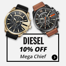10% Off Diesel Mega Chief