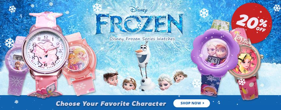 20% Off Disney Frozen Series Watches