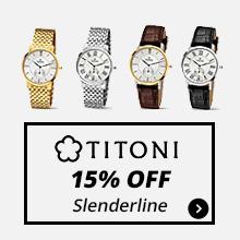 15% Off Titoni Slenderline