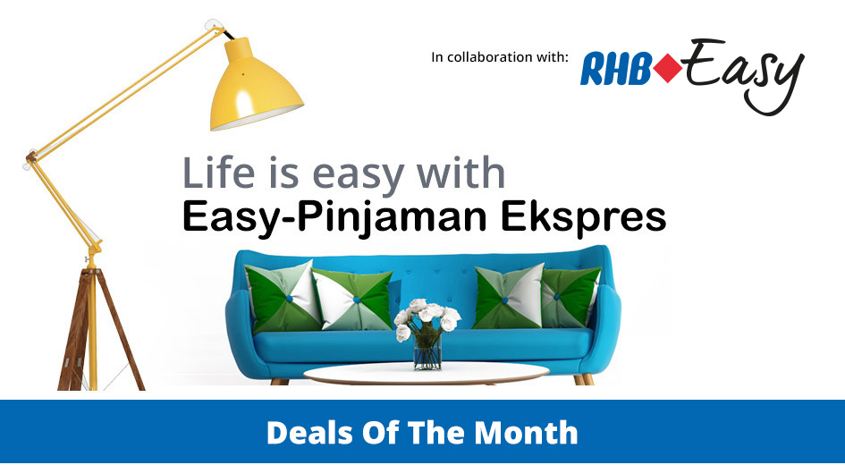 RHB Easy Online Financing - Guaranteed Gift