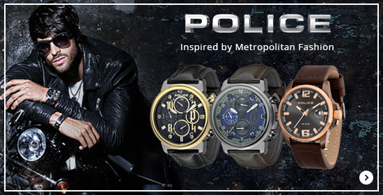 Police Inspired by Metropolitan Fashion