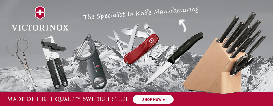 Victorinox The Specialist In Knife Manufacturing