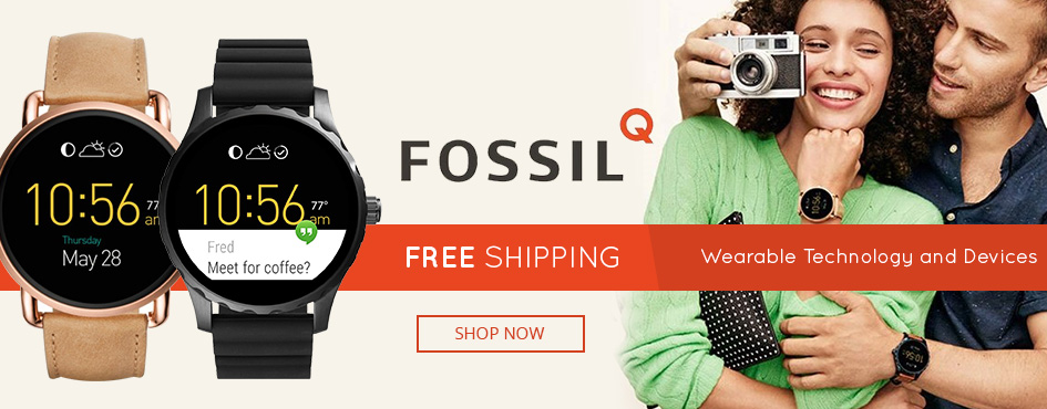 Free Shipping Fossil Q