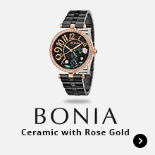 Bonia Ceramic with Rose Gold