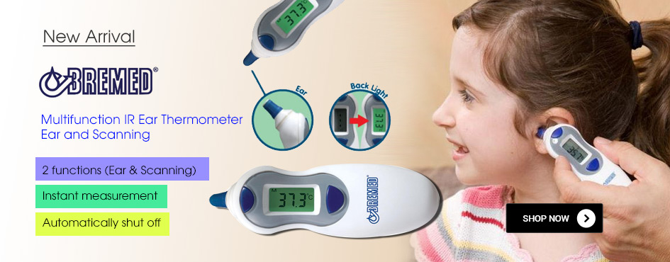 Bremed Multifunction IR Ear Thermometer Ear and Scanning