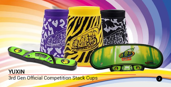 YUXIN 3rd Gen Official Competition Stack Cups