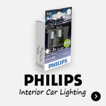 Philips Vision Interior Car Lighting