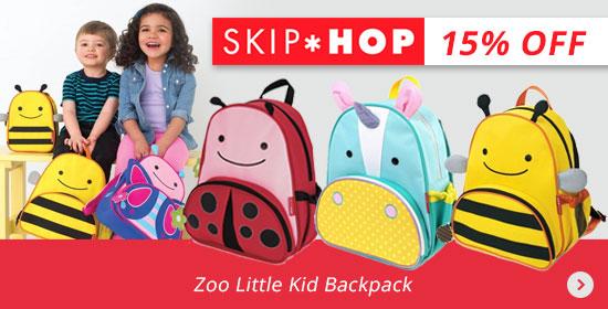 15% Off Skip Hop Zoo Little Kid Backpack