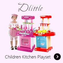 Dlittle Children Kitchen Playset