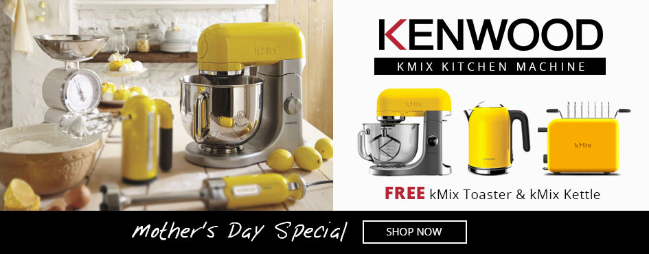 Mother's Day Special Kenwood kMix Kitchen Machine