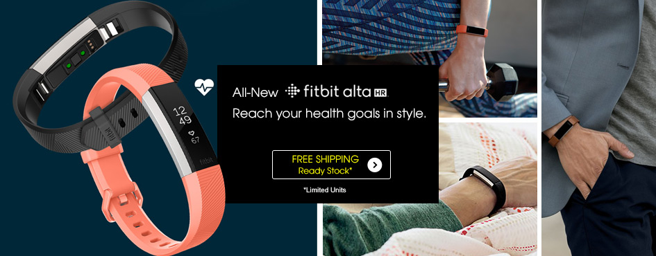 All-New Fitbit Alta HR