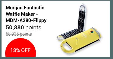 Morgan Funtastic Waffle Maker - MDM-A280-Flippy