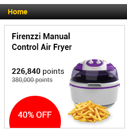 Firenzzi Manual Control Air Fryer