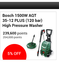 Bosch 1500W AQT 35-12 PLUS (120 bar) High Pressure Washer