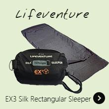 Lifeventure EX3 Silk Rectangular Sleeper