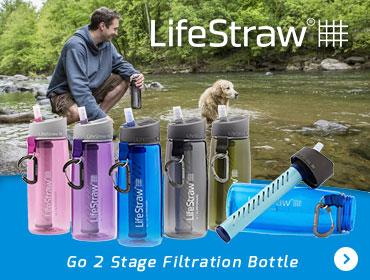 LifeStraw Go 2 Stage Filtration Bottle