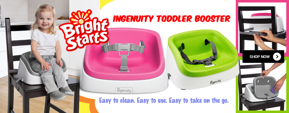 Bright Starts Ingenuity Toddler Booster