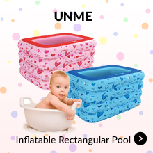 UNME Inflable Rectangular Pool