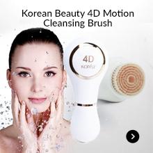 Korean Beauty 4D Motion Cleansing Brush