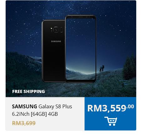 Samsung Galaxy S8 Plus 6.2iNch [64GB] 4GB