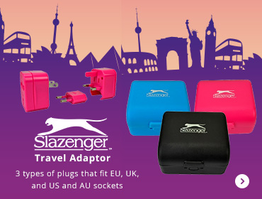 slazenger Travel Adaptor