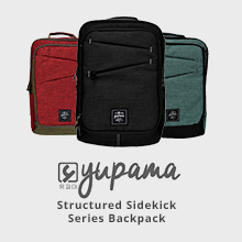 Yupama Structured Sidekick Series Backpack