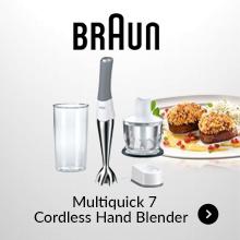 Braun Multiquick 7 Cordless Hand Blender