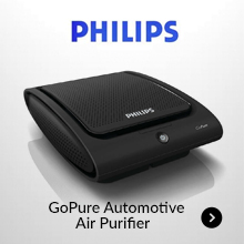 Philips GoPure Automotive Air Purifier