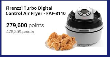 Firenzzi Turbo Digital Control Air Fryer - FAF-8110