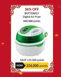 Butterfly Digital Air Fryer - BAF-601D