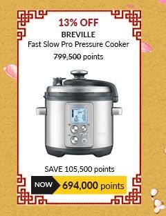 Breville Fast Slow Pro Pressure Cooker - BPR700