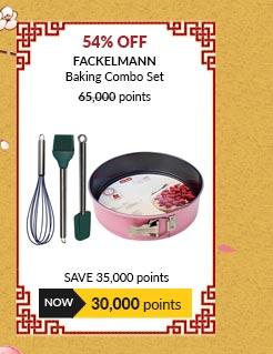 [CNY Promo] Fackelmann Baking Combo Set