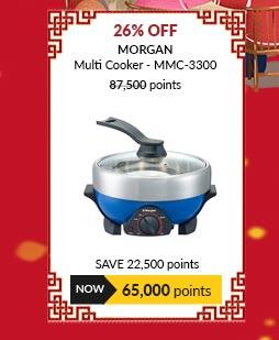 Morgan Multi Cooker - MMC-3300