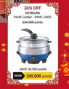Morgan Multi Cooker - MMC-3400